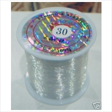 DIY Beading String Clear 0.3mm Beads Crystal