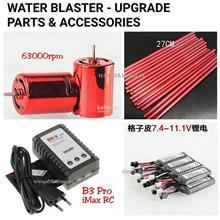 WATER GEL BLASTER TOY GUN PART RED 370 MOTOR 11.1V BATTERY B3 Pro iMax