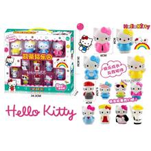 Hello Kitty Playset Hello Kitty Figure Cake Topper Decoration 12pcs