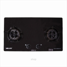 Milux Double Burner Cooker Hob - MGH-2PFT
