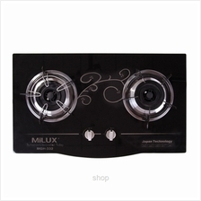 Milux Double Burner Cooker Hob - MGH-332