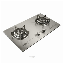 Milux Double Burner Cooker Hob - MGH-S666M