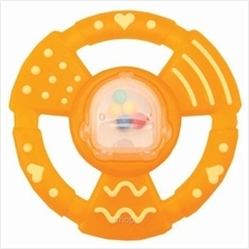 Piyopiyo Round Rattle Teether - 830436