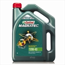 Castrol Magnatec 10W-40 4L Engine Oils For Petrol Vehicles - DUALOCK (PART SYN