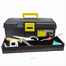 Winsir Hand Tool Box M-910 Black (380 x 190 x 142mm) - HT-B910B