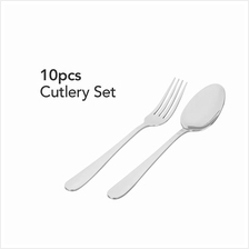 Buffalo Cutlery Set (10 Pcs))