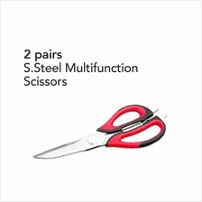 Buffalo S/Steel Multifunction Scissors (2 pairs)