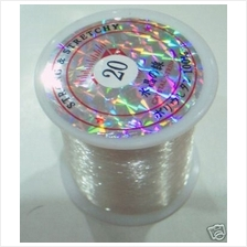 DIY Beading String Clear 0.2mm Beads Crystal