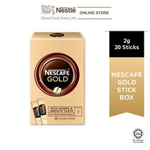 NESCAFE GOLD Stickbox 20stick x 2g)