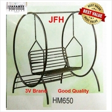 JFH 3V Garden Swing Chair (HM650) / Outdoor Swing / Metal Swing