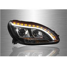 MERCEDES BENZ W220 S-CLASS 1998-05 LED DRL Projector Head Lamp (Pair)