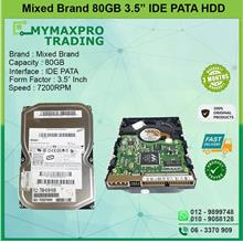 80GB 7.2Krpm 3.5' IDE HDD *bulk /wholesale available*