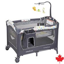 Baby Trend Portable Infant Baby Cot Playpen Travel Bed