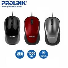PROLiNK Stylish High Precision Fast Scrolling USB Mouse PMO630U