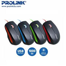 PROLiNK Stylish High Precision Fast Scrolling USB Mouse PMC1002