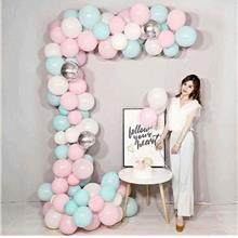 5M PVC RUBBER BACKDROP BALLOON CHAIN ARCH