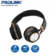 PROLiNK Corded Stereo Foldable Headset Padded Ear Pads PHC1002E)