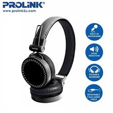 PROLiNK Corded Stereo Headset Foldable Headband  PHC1003E)