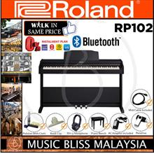 Roland RP102 Digital Piano with Bench and Headphone - Black (RP-102)