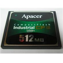 Apacer 512MB CF III card For Industrial Equipment