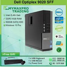 Dell Optiplex 9020 SFF Intel i5-4th Gen 4GB 250GB HDD Win 7 Desktop