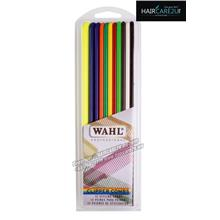 Wahl 12 Pack Flat Top Assorted Coloured Clipper Combs #3206-200