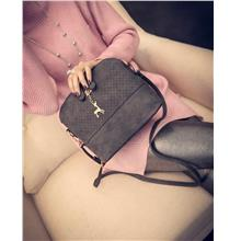 Trendy Women Korean Shoulder Bag/Dinner Bag with deer toy shell shape