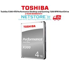 Toshiba X300 4TB Performance Desktop and Gaming 7200 RPM Hard Drive
