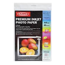 Fullmark Premium Inkjet Photo Paper PPIPH20 (A4 size) - 20sheets/pack