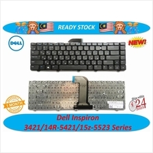 Dell Inspiron 14R-2308/2418/3437/5437 Series Laptop Keyboard (US)