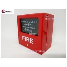 Demco Manual Call Point DEM-118 EMERGENCY BREAK GLASS