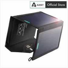 AUKEY PB-P2 20W Solar Charger with Dual USB Port and AiPower
