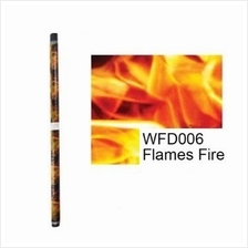 Samurai WFD006 Flames Fire Water Transfer Film 1.0m X 0.5m ONLY