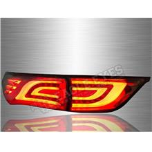 TOYOTA HARRIER XU60 2013-19 Smoke Lens LED Light Bar Tail Lamp *Pair