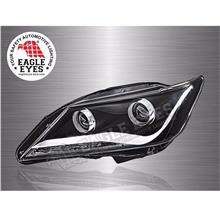 TOYOTA CAMRY 2012–18 EAGLE EYES Audi Concept Projector Head Lamp *Pair