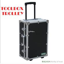 Aluminum Boxes Lock Anti Theft ToolBox Trolley Suitcase 520X350X210MM