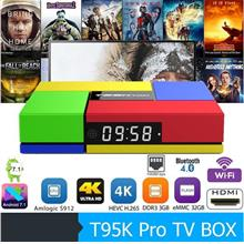 T95K Pro Amlogic S912 Octa Core 3GB+32GB Android TV Box / IPTV / 4K