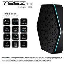 T95Z Plus Amlogic S912 Octa Core 3GB+32GB Android TV Box / IPTV / 4K
