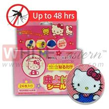 [Zika Dengue]Anti Mosquito Repellent Patches Hello Kitty Design,24 Pcs
