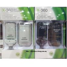X-360 4 IN 1 4800MAH BATTERY PACK  & CHARGING KIT FOR XBOX CONTROLLER