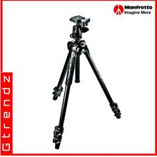 Manfrotto MK290LTA3-BH 290 Light Alu 3-Section Tripod Kit