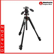 Manfrotto MK190XPRO3-3W 190 aluminium 3-section tripod Kit