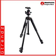 Manfrotto MK190X3-BH 190X aluminium 3-Section Tripod Kit
