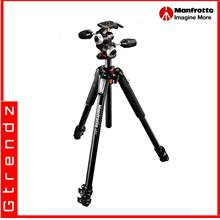 Manfrotto MK055XPRO3-3W 055 kit - alu 3-section horiz. column tripod