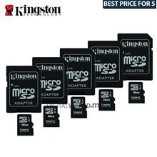 Best Buy For 5x Kingston 16GB Micro SDHC Class 4 Flash Memory Card with Adapte