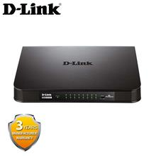 D-Link DGS-1016A 16 Port 10/100/1000Mbps Gigabit Unmanaged Switch with (Plasti