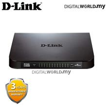 D-Link DGS-1024A 24 Port 10/100/1000Mbps Gigabit Unmanaged Switch with (Plasti