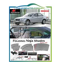 Mercedes Benz W203 C Class Year '08-'11 Magnetic Ninja Sun Shade