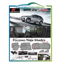 BMW X5 Year '06-'13 Magnetic Ninja Sun Shade/Sunshade Premium Quality
