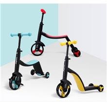 3 In 1 Scooter Toddler Balance Bike For Kids With Free Protection Gear